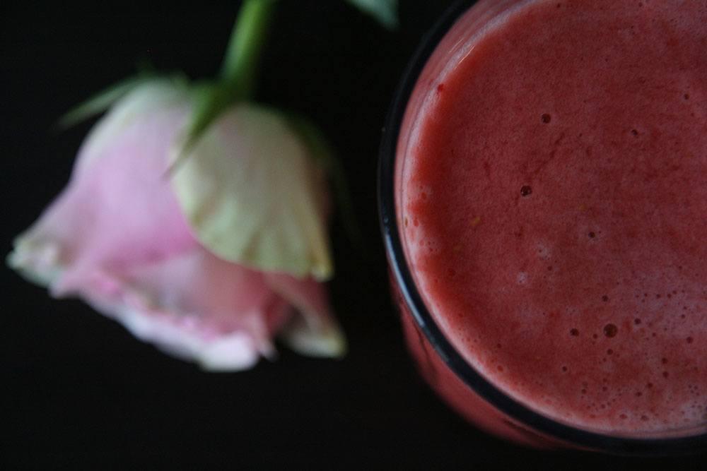 rabarber smoothie