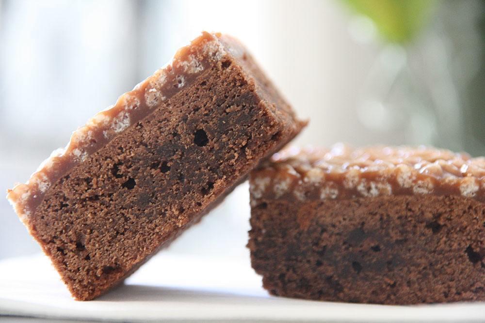 Opskrift på chokoladekage med crunch