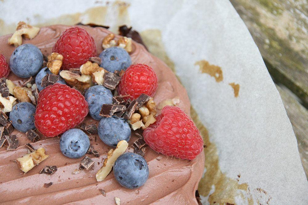 Opskrift på gluten og sukkerfri fudgy brownie