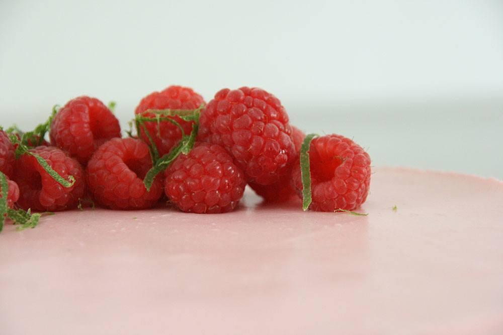 Opskrift på skøn hindbærmousse-kage