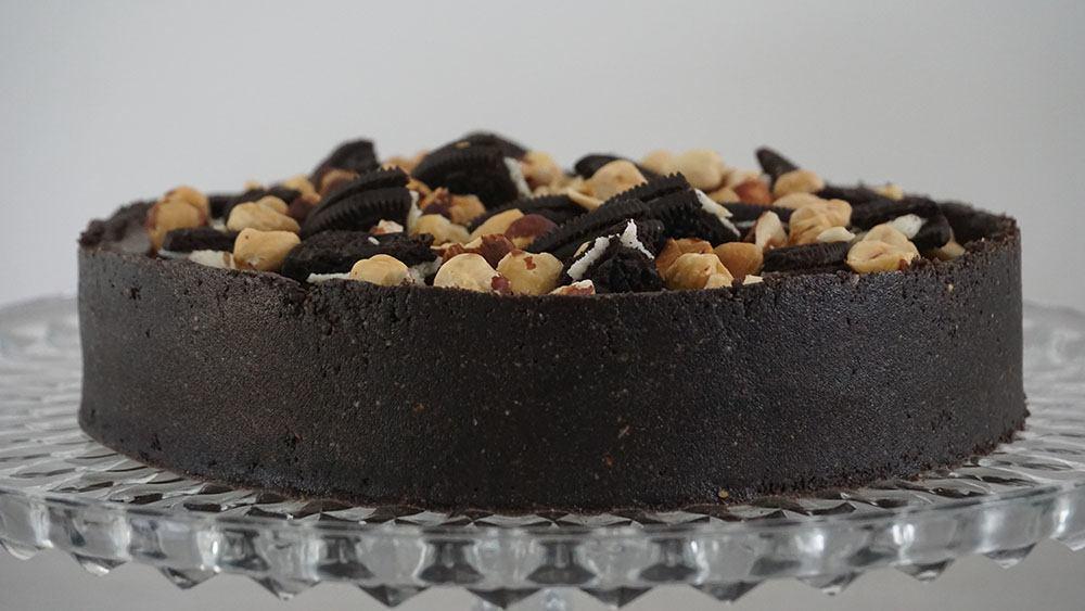 opskrift på overdådig nutella cheesecake