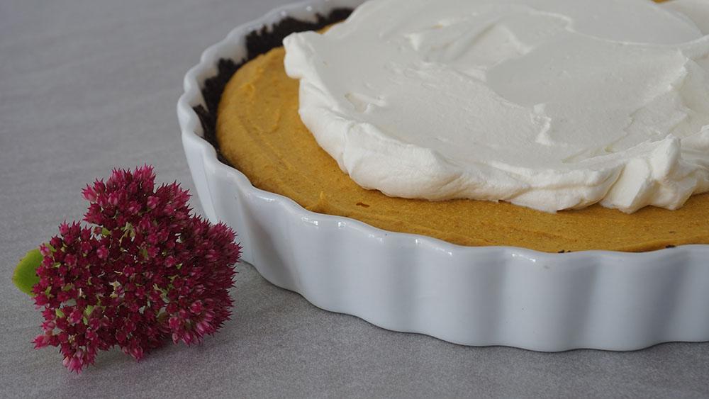 opskrift på Oreo pumpkin pie ala Camilla