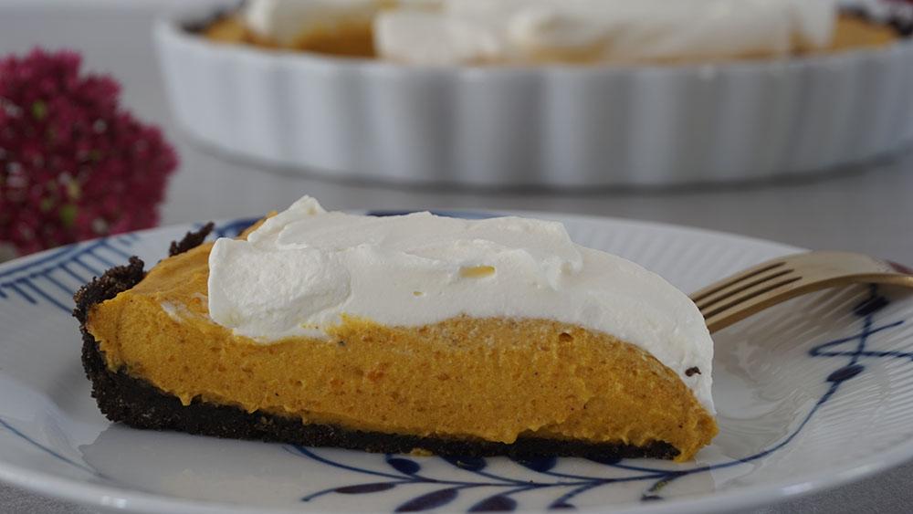 Opskrift på lækker syndig Oreo pumpkin pie ala Camilla