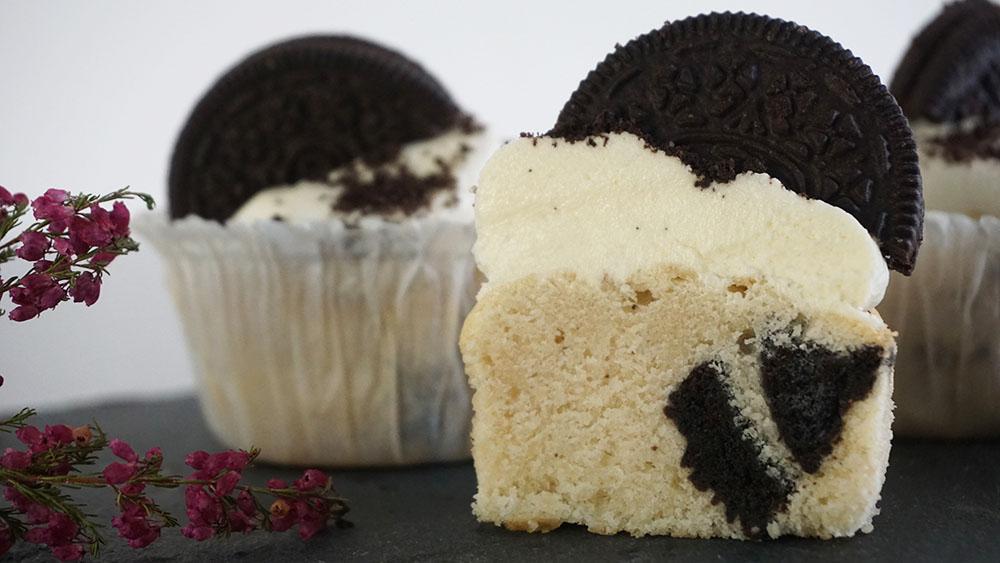 Opskrift på Oreo cupcake