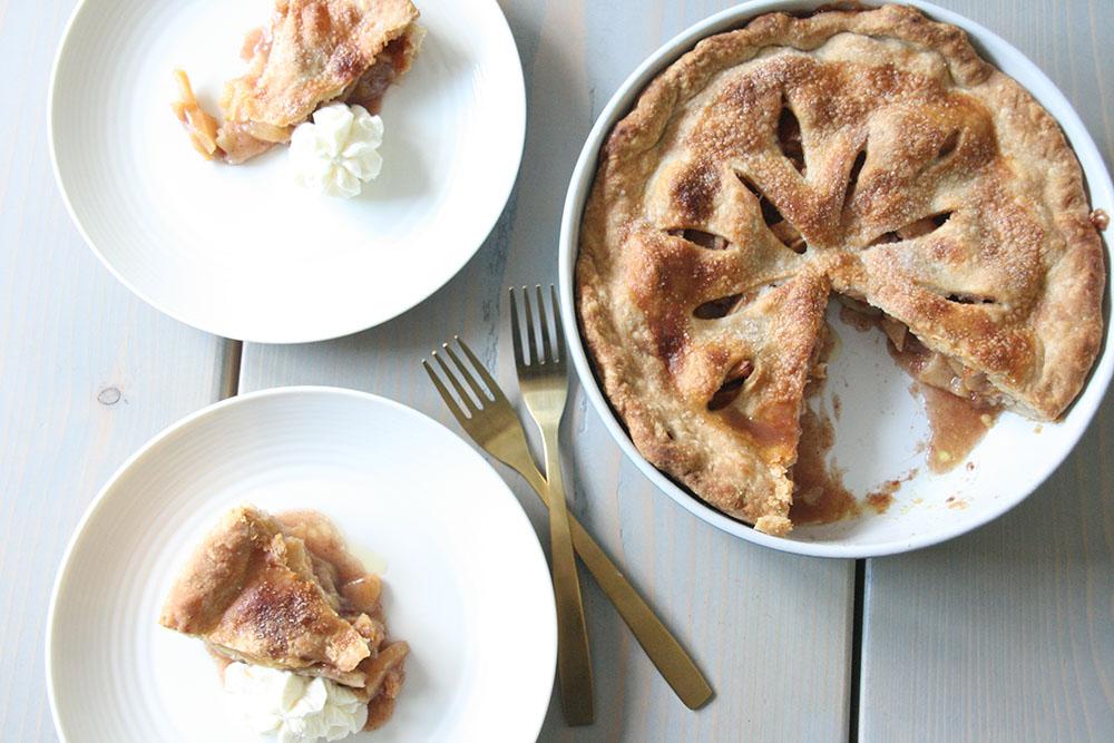 Opskrift på den bedste amarikanske apple pie