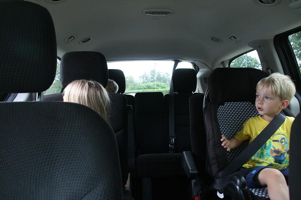 Bilferie i Florida - Dodge Grand Caravan, minivan