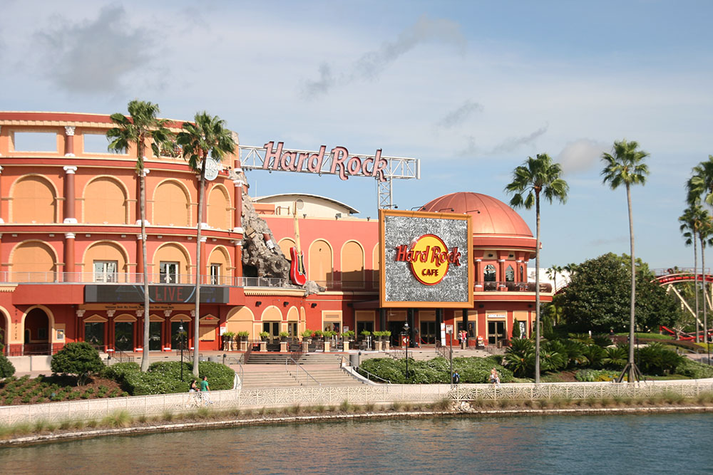 Hard Rock Cafe - Universal studios