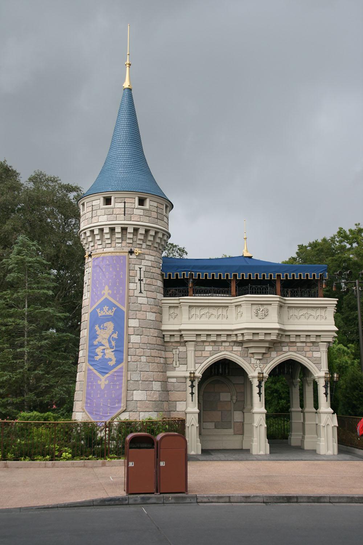 Askepots slot i magic kingdom