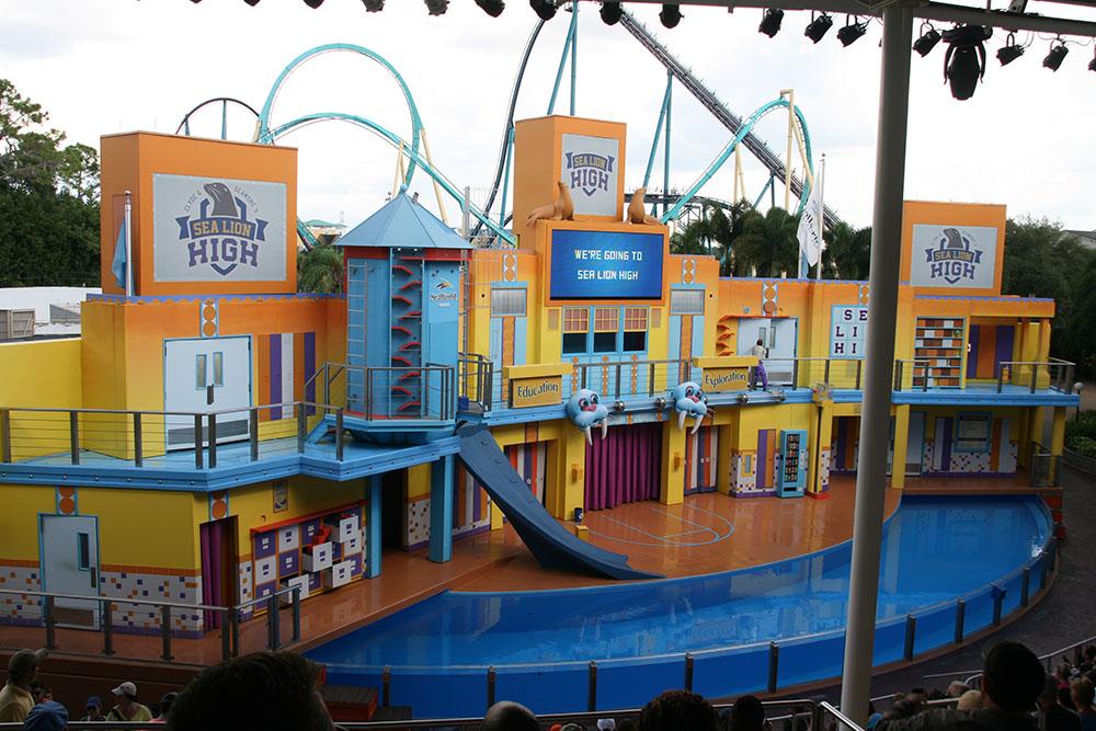 Sea Lions & Otter stadium - SeaWorld Orlando