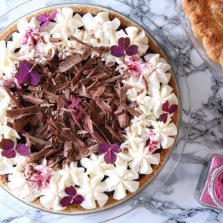 Opskrift på nok den bedste chocolate silk pie – Chokoladetærte