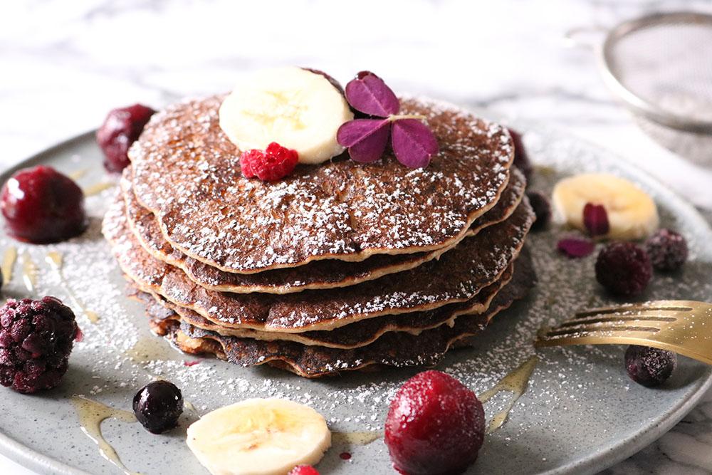 Grove pandekager til morgenmad