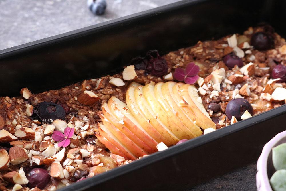 Opskrift på lækker og nem bagtgrød med lækre krydderier