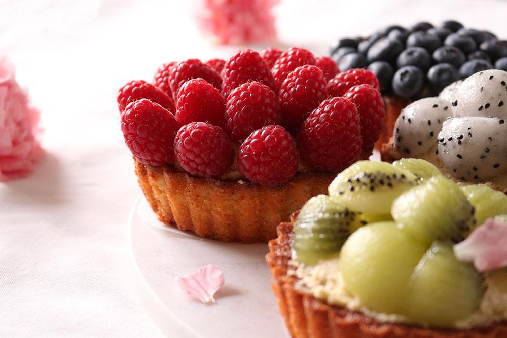 syndige frugttærter