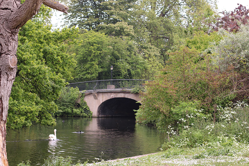 Regent's Park in beautiful London