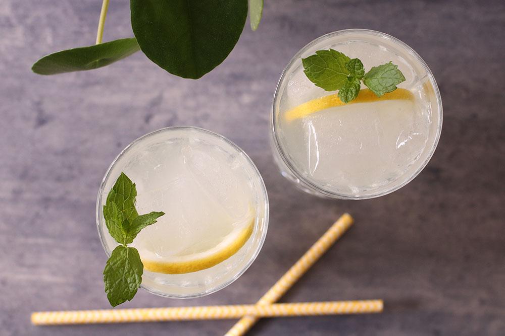 Frisk sommerlækker lemonade