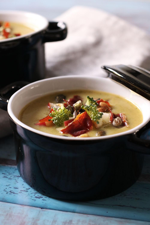 Opskrift på smagsgod og farvefin broccolisuppe
