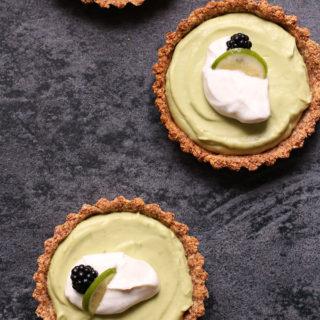 Opskrift på sundt alternativ til key lime pie
