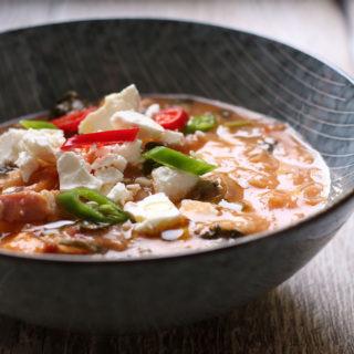 Opskrift på cremet italiensk suppe, ribollita