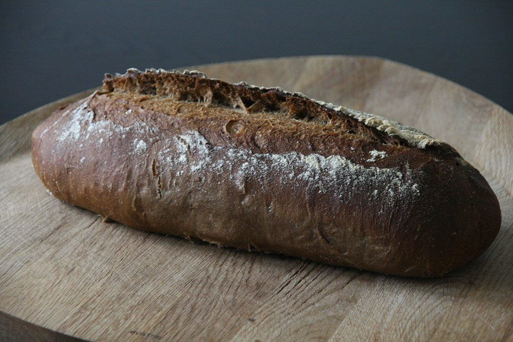 Hjemmebagt franskbrød