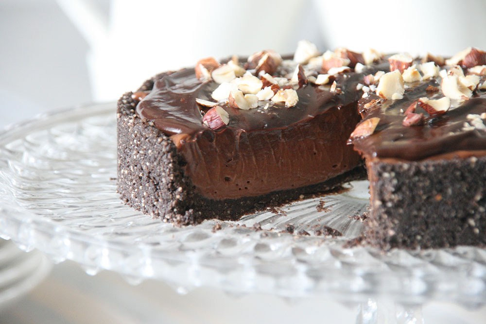 Opskrift på lækker chokolade cheesecake