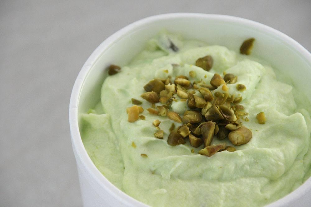 Opskrift på hjemmelavet pistacie is uden ismaskine