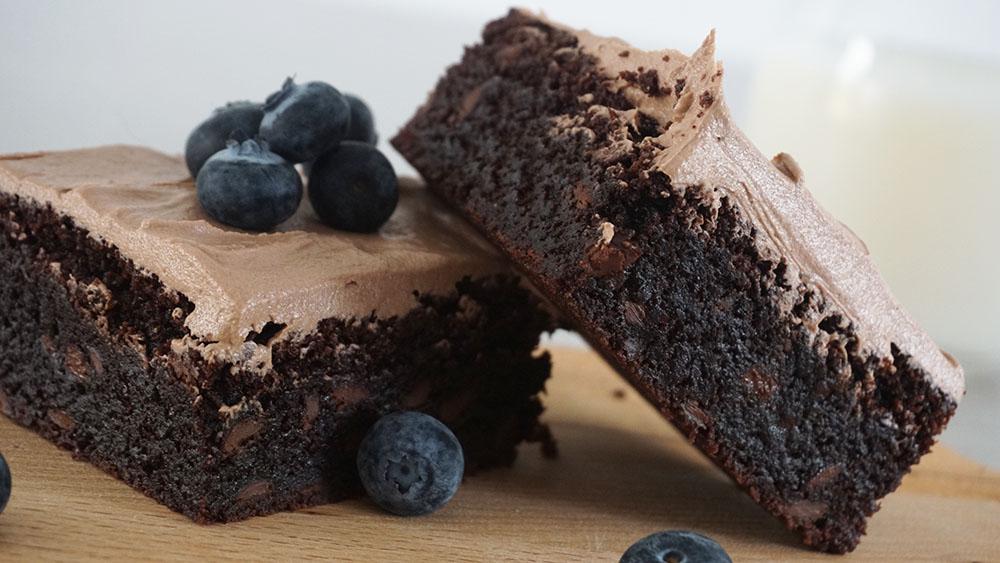 Opskrift på fudgy Nutella brownies