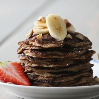 Lækker opskrift på nemme bananpandekager