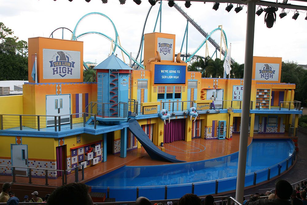 Sea Lions & Otter stadium - SeaWorld Orlando