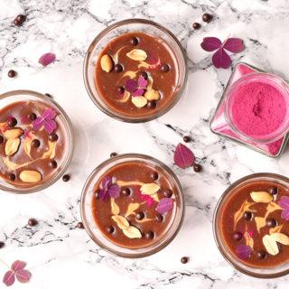Nytårsdessert – Opskrift på lækker chokolade-peanutbutter mousse