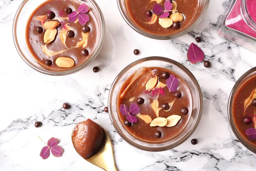 ny og nem yndlings dessert - Chokoladepeanutbutter mousse