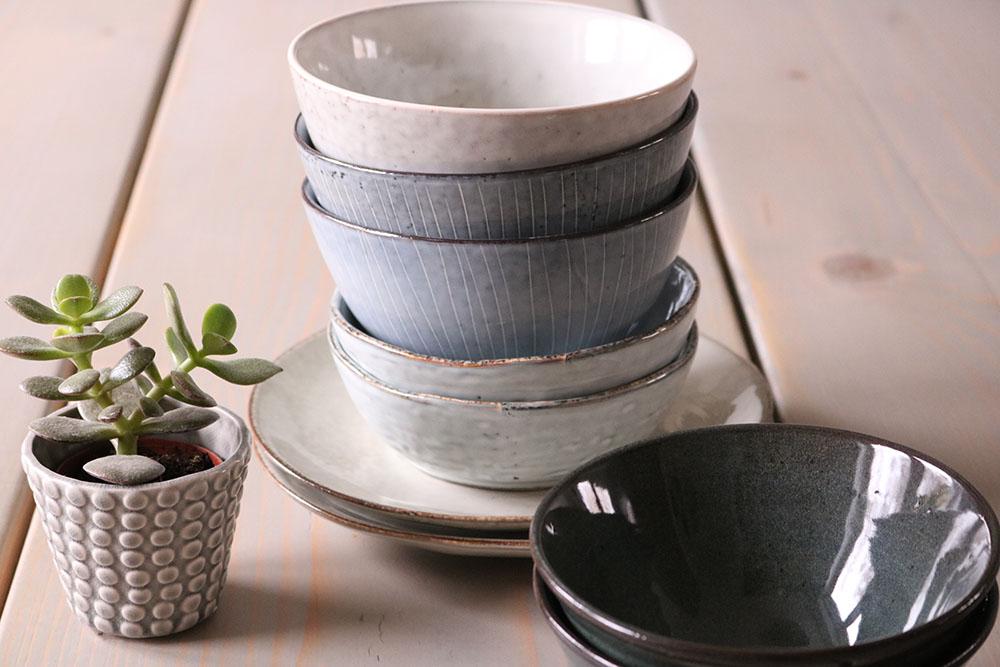 Nyindkøbt porcelæn fra Broste Copenhagen og House Doctor