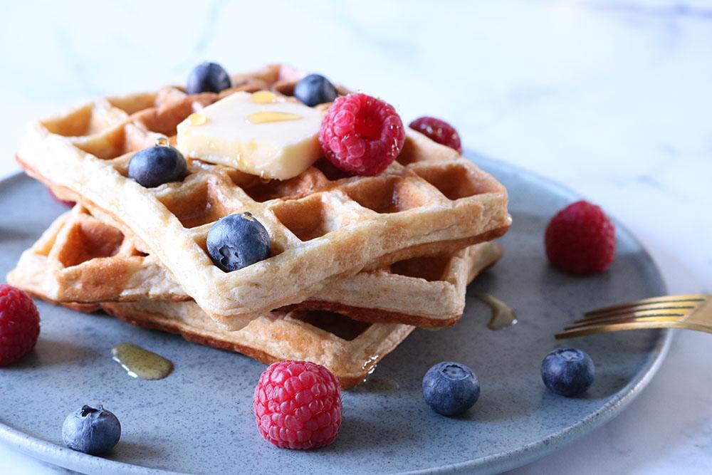 Sund morgenmad - Belgiske vafler