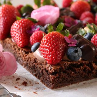 Utrolig lækker opskrift på klassisk brownie