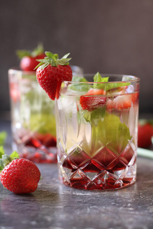 Fredagscocktail - Strawberry mojito