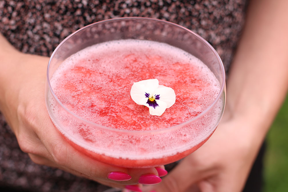 Opskrift på nem strawberry daiquiri af Sun Lolly