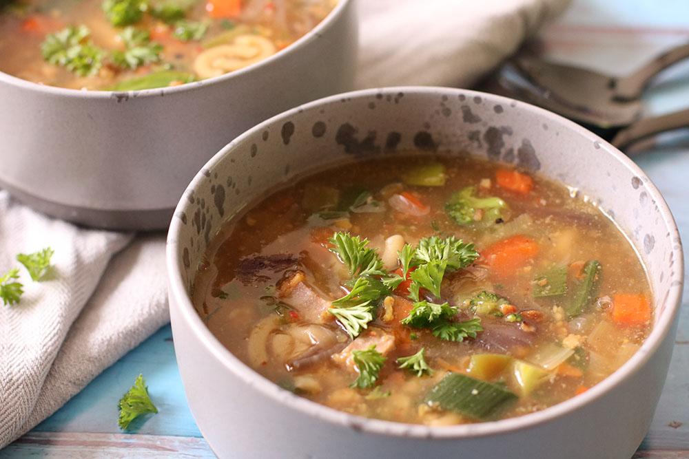 Opskrift på nem og hurtig minestrone suppe