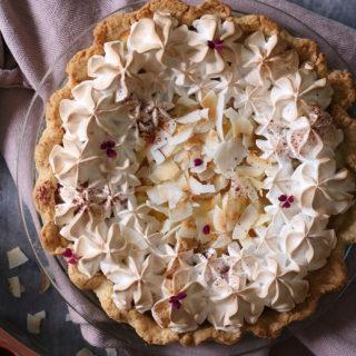 Sommersød ananas og cream cheese tærte – pineapple pie