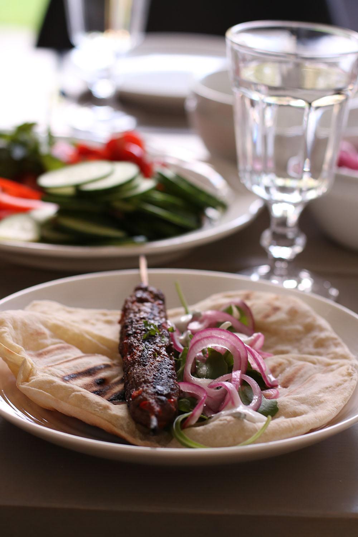 hjemmelavet kebabspyd