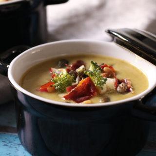 Lækker opskrift på cremet broccolisuppe