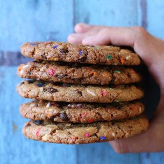 Verdens bedste opskrift på funfetti cookies
